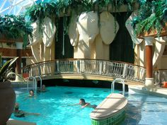 The solarium on Radiance of the Seas: Adults only pool with moveable roof - Great for swimming and sunbathing. Seas, All Over The World, Trip Planning, Places Ive Been, Caribbean, Sailing, To Go, Outdoor Decor, Cruise Ships