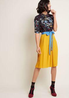 Adored Duet A-Line Dress   ModCloth