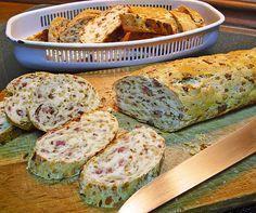 Zwiebel - Käse - Schinken Brot, ein schönes Rezept aus der Kategorie Brot und Brötchen. Bewertungen: 106. Durchschnitt: Ø 4,4.