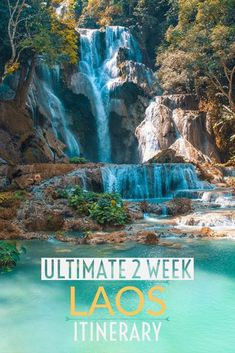 The ultimate two week Laos itinerary for backpackers including routes, transport, accommodation and highlights in each top. : The ultimate two week Laos itinerary for backpackers including routes, transport, accommodation and highlights in each top. Laos Travel, Vietnam Travel, Asia Travel, Solo Travel, Croatia Travel, Hawaii Travel, Thailand Travel, Italy Travel, Travel Bag