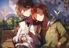 Dazai x Chuuya Dazai Bungou Stray Dogs, Stray Dogs Anime, Dazai Osamu, Animal Jam, Another Anime, Manga Boy, Dark Ages, Anime Art, Artist