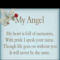 Nana I know you're my Angel watching over me from heaven