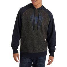 Spider-Man Spider Men's Pullover Hoodie, Size: XL, Black
