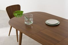 Edelweiss 6-8 Seat Oval Extending Dining Table, Walnut and Brass | MADE.com