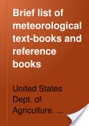 """""""Brief List of Meteorological Text-Books and Reference Books"""" - Charles Fitzhugh Talman, 1910, 18"""