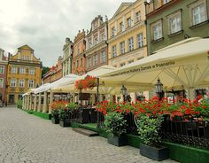 Old Market Square- Poznan, Poland.   - Explore the World with Travel Nerd Nici, one Country at a Time. http://TravelNerdNici.com