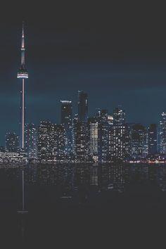 Toronto at Night | MDRNA | Instagram