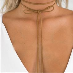 For Love and Lemons Jewelry -  A must have boho leather choker.
