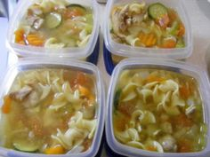 Grandma Pam's Kitchen: Chicken Noodle Soup