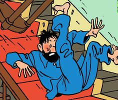 Comic Movies, Comic Books, Haddock Tintin, Captain Haddock, Ligne Claire, Lucky Luke, Amazing Adventures, Funny Comics, Book Series