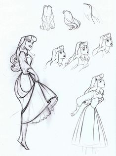 Sleeping Beauty (1959) - Production Drawings