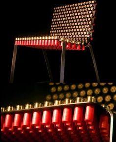 Shotgun Chair By Alexander Reh