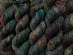 Granite A Go Go. Witch Candy Yarn colorway
