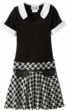 Rare Editions Girls 7-16 Houndstooth Dress, Black/White, 7 Rare Editions,http://www.amazon.com/dp/B00CTH8OEG/ref=cm_sw_r_pi_dp_auFXsb1QAXJRZWKQ