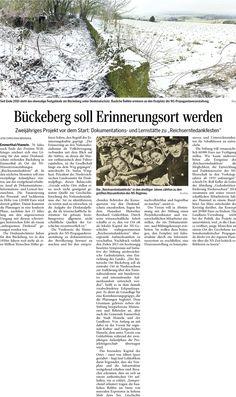 Projektbeginn für die Erschließung des Bückeberg als Gedenkstätte