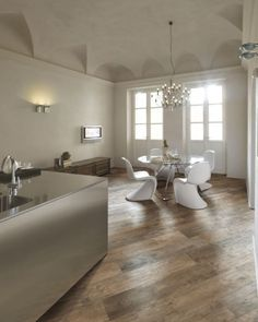 love the natural wood diagonal floors