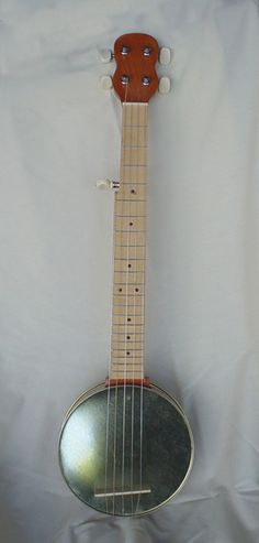 Cookie Tin Banjo