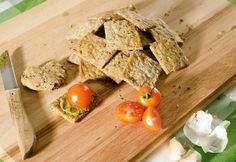 Lenmagos sós zabkeksz Crackers, Low Carb, Meals, Cookies, Breakfast, Food, Drink, Recipe, Crack Crackers
