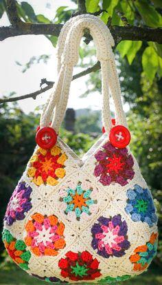 Crochet Handbags, Crochet Purses, Handmade Handbags, Handmade Bags, Hydrangea Painting, Denim Tote Bags, Knitted Bags, Crochet Accessories, Handicraft