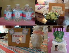 spa party ideas for girls birthday | MKR Creations: Valentina's Spa Party Theme
