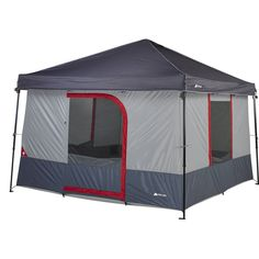 Canopy Tent 6-Person Connectent Hiking Waterproof 3 Trap Cover Spacious Interior #TentsHome