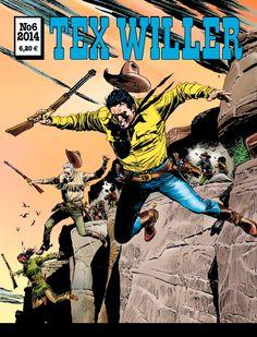 Tex Willer -lehti no 6/2014. #egmont #sarjakuva #sarjis #sarjakuvalehti