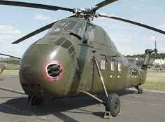 Sikorsky H-34 Had these in Vietnam - couldn't carry shit, esp. when it was really hot or in the mountains