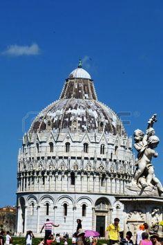 Baptistery of Pisa, Italy
