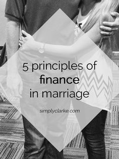 5 Principles of Finances in Marriage #marriage #finances #simplyclarke