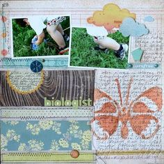 Layout from the July Kit by Doris Sander