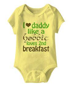 Banana '2nd Breakfast' Bodysuit - Infant