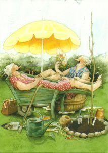 Gardening Grannies.