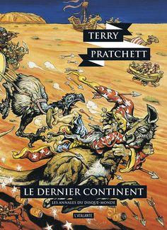 Nouvelle édition ! Le dernier continent de Terry Pratchett, Les Annales du Disque-monde (livre 22, 2017) ©Josh Kirby / Leraf