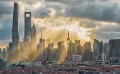 Shanghai City, New York Skyline, Travel, Viajes, Trips, Traveling, Tourism, Vacations