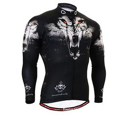 FIXGEAR Mens Cycling Wear Long Sleeve Cycling Jersey Jacket Size XXL      You can 522c40f6f