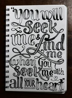 hand drawn bible verse, check out tjc.org find a church near you