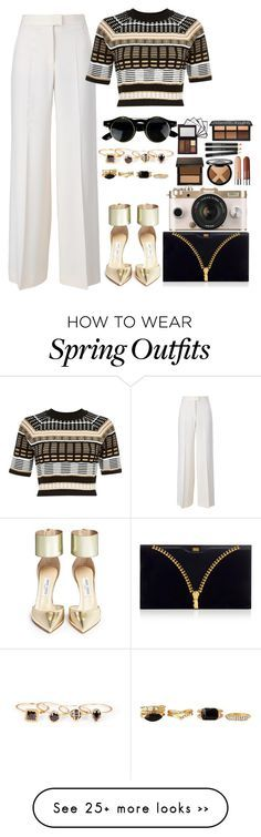 """Untitled #894"" by abrionna on Polyvore featuring STELLA McCARTNEY, River Island, Jimmy Choo, Charlotte Olympia, Sole Society, Charlotte Russe and Urban Outfitters"