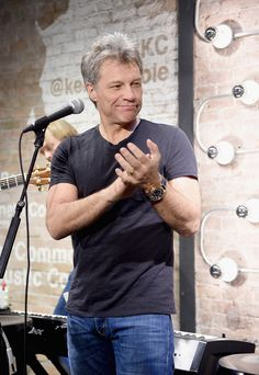 Jon Bon Jovi Photos: Jon Bon Jovi & Kenneth Cole Curated Acoustic Concert - Mercedes-Benz Fashion Week Fall 2015