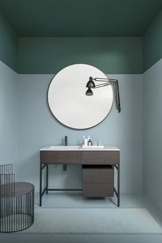 inspiring bathroom mirror ideas will change the way you see yourself. Mirror IdeasThese inspiring bathroom mirror ideas will change the way you see yourself. Bathroom Mirror Design, Bathroom Interior Design, Home Interior, Modern Bathroom, Small Bathroom, Diy Bathroom, Interior Colors, Bathroom Mirrors, Bathroom Designs