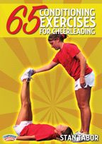 65 Conditioning Exercises for Cheerleading - This instruction is sure to give both coach and cheerleader ideas for achieving a level of conditioning that incorporates fun and high energy into safe and effective training!