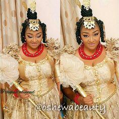 Efik bride of Nigeria
