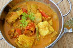 Ýsa = haddock  in curry