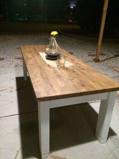 Chopping Block Farm Table