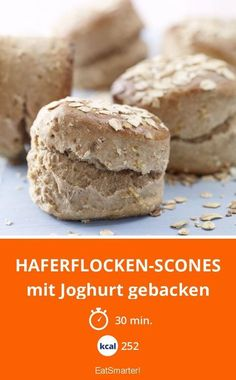 Oatmeal scones – baked with yoghurt – smarter – Calories: 252 Kcal – Time: 30 mins eatsmarterde The post Oatmeal Scones appeared first on Garden ideas - Health and fitness Oatmeal Recipes, Vegan Breakfast Recipes, Brunch Recipes, Fall Recipes, Bread Recipes, Crockpot Recipes, The Oatmeal, Oatmeal Scones, Baking With Yogurt