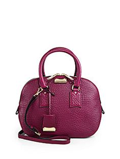 #Burberry - Orchard Satchel Tote