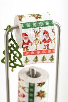 Lustiges Toilettenpapier Weihnachten MOTIV TOGETHER: Amazon.de: Drogerie & Körperpflege