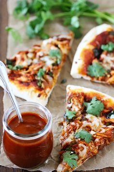 Chicken Enchilada Pizza | Gimme Some Oven