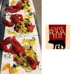 il menù di stasera prevede: Aragosta! Vieni da #cafferomaeur per gustarla! 🍸 #aragosta #chic #aperitivo #apericena #roma #eur