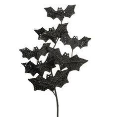 "$4.99 RAZ Bat Spray  Black Made of EVA Measures 28.5""  RAZ 2014 Halloween Collection Additional photos shows use for Bat Spray, other items not included"