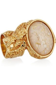 I bought my YSL ring last week in Paris. Absolutely stunning and goes with everything! x